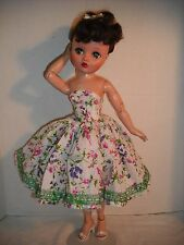 "NEW QUALITY Vintage Reproduction Dress Fits 19"" 20"" Uneeda Dollikin ByOTM"
