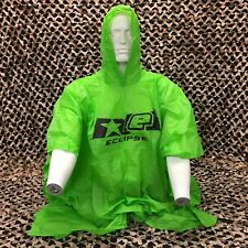 New Planet Eclipse Paintball Poncho - Lime Green
