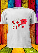 Poppy Day Remembrance British UK T-shirt Vest Tank Top Men Women Unisex 2183