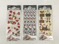 Darice Dimensional Stickers 105 3D Effect Christmas Santa Hat Holiday Craft New