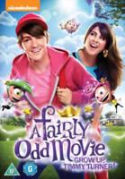 A Fairly Odd Film Grow Up Timmy Turner ! Nickelodeon GB 2015 Région 2 DVD Neuf