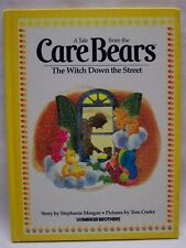 1983 THE CARE BEARS The Witch down the Street by Stephanie Morgan HARDCOVER BOOK