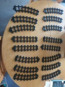 0 Gauge O Job lot Toy State straight track and curves for Caterpillar train