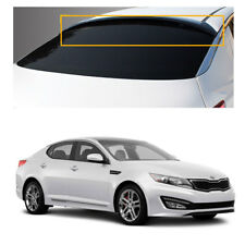 New Smoke Rear Roof Window Deflector Visor Spoiler for Kia Optima 11-15