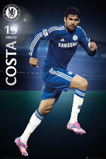 DIEGO COSTA Chelsea FC Official Soccer Superstar Series EPL Action POSTER