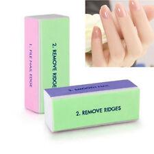 New Nail Art Manicure 4 Way Shiner Buffer Buffing Block Sanding File Beauty Tool