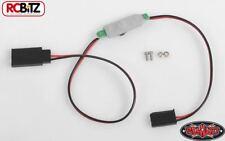 RC4WD Mini en Off interruptor de barras de unidad de iluminación receptor tapones 12' Z-E0081 11.1v