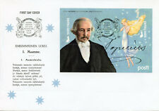 Finland 2018 FDC Zacharias Topelius 2v S/A M/S Cover Writers Literature Stamps