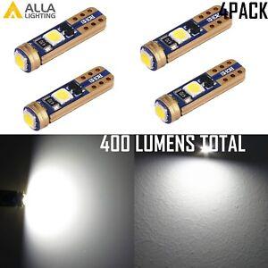 74 LED Light Bulb Ash Clock Courtesy Floor Console Glove Box High Beam Indicator