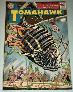 Tomahawk #95 VF- 1964 DC Comic Book Silver Age Western