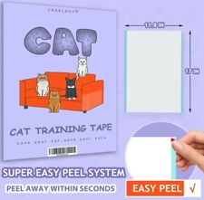 Anti Scratch Cat Training Tape, 16 Pieces Xl Large