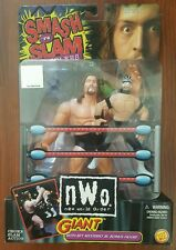 WCW Smash 'N Slam Giant & Rey Mysterio Jr. Figures Big Show nWo ToyBiz 1999 NEW