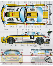 STUDIO 27 DECAL 1/24 MERCEDES SLS AMG GT3 #19 BLACK FALCON 2012 for FUJIMI