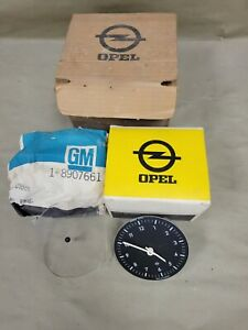 1971-73 Opel Kadet Clock Kit OEM GM NOS 981743 1742006