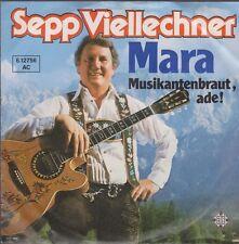 """7"""" Sepp Viellechner Mara / Musikantenbraut Ade 80`s Telefunken"""