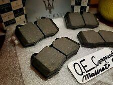Maserati Quattroporte & GranTurismo O.E. FRONT Brake Pads With Sensor! 2005-2011
