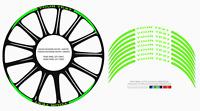 DUCATI Adesivi cerchi ruote strisce adesive rim stickers decal  MOD.03