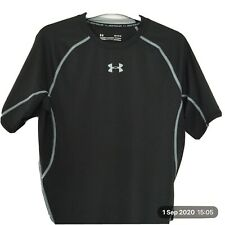 UNDER ARMOUR COMPRESSION HEAT GEAR SHORT SLEEVED TOP NEW ,SIZE LG