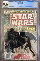 Star Wars #44 CGC 9.6 1981 Marvel Part 6 Empire Strikes Back Newsstand Variant
