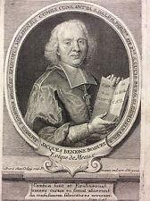 Jacques-Bénigne Bossuet 1627-1704 évêque de Meaux XVIIe France