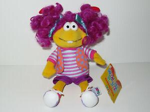 "Eden Wimzie's House Plush Wimzie Doll Stuffed Animal PBS 1999 Cinar 9"" Bean Bag"