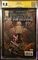 THANOS #13 CGC SS 9.8 DONNY CATES MARVEL COMICS 1ST COSMIC GHOST RIDER PUNISHER
