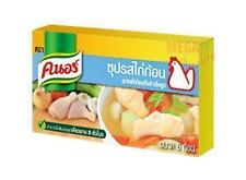 Thai Knorr Chicken Bouillon Soup Seasoning Cubes Easy Cook 4 Cubes (40g)