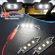 White 44mm CREE TWISTED Rigid Loop Festoon LED Light Bulbs 561 562 567 564 212-2