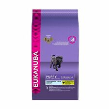 Eukanuba Puppy Dry Dog Food for Large Breed, Chicken - 12 kg