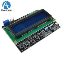 1602 LCD Board Keypad Shield Blue Backlight For Arduino Duemilanove Robot Board