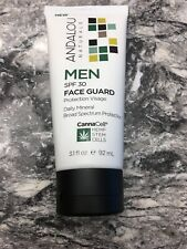 Andalou Naturals CannaCell Men's Face Guard SPF 30 3.1floz 234152