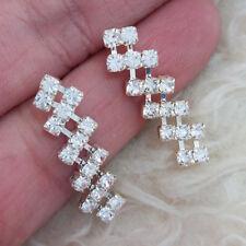 NEW Beautiful Womens Fully Rheinstones Party Wear Stud Pierced Earrings FASHION
