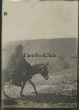 Bédouins Voyage en Moyen-Orient 1909 Vintage silver 6x9cm
