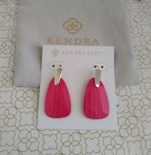 Kendra Scott Marty Gold Drop Earrings in Azalea Illusion Mother of Pearl