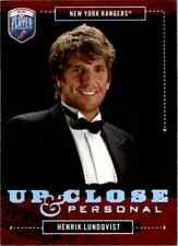 2006-07 Upper Deck Be A Player Up Close And Personal Henrik Lundqvist #UC19