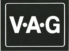VOLKSWAGEN VW GOLF GTI Autocollant sticker 15x20 cms CHALLENGE VAG V.A.G RALLYE