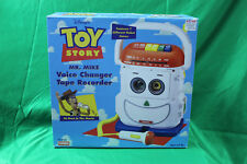 Disney Pixar Toy Story Playskool Mr Mike Voice Changer Tape Recorder PS-468 1996