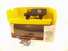 solido 6038 • Collection Militaire I •  Mercedes Unimog  • neuf boite /boxed