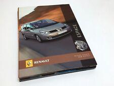 Renault Espace Press Kit Brochure - 03/2006