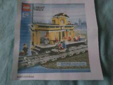 Lego city N°7997 année 2007 Train station