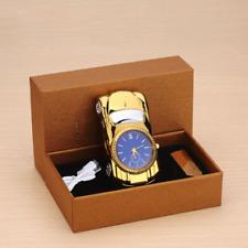 Car Model Men Watch Clock USB Lighter Cigarette Windproof Flameless Rechargeable