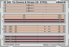 Eduard 1/35 Tie Downs et sangles US Steel # 36348