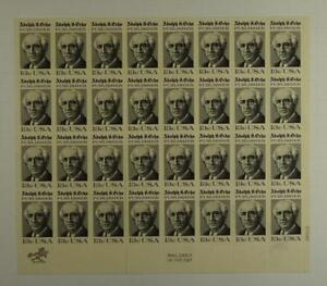 US SCOTT 1700 PANE OF 32 ADOLPH S OCHS STAMPS 13 CENT FACE MNH
