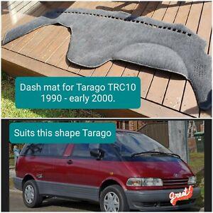 Dash mat for Toyota Tarago TRC10 model  1990- early 2000. Grey
