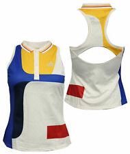 Adidas x Pharrell Williams NY Colour Block Womens Tank Tennis Vest BP5222 Y7A