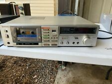 Technics M258R Cassette Deck *works*