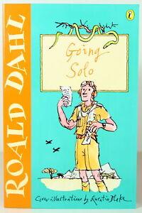 ROALD DAHL classic GOING SOLO paperback pb story book v1 - NEW!