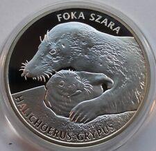 2012 Poland Polen Numismat  GREY SEAL Silver 925 RARE!