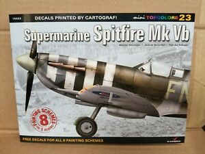 KAGERO BOOKS. SUPERMARINE SPITFIRE MK.Vb. DECALS FOR 1/72,1/48,1/32. #15023.