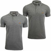 Brave Soul Mens Polo T-Shirt Birdseye Pique Short Sleeved
